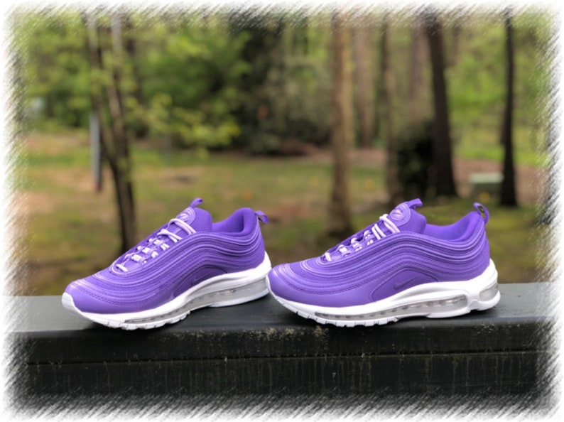 check out d7383 d3789 Purple Persuasion Nike Air Max 97 Custom (PLEASE READ)