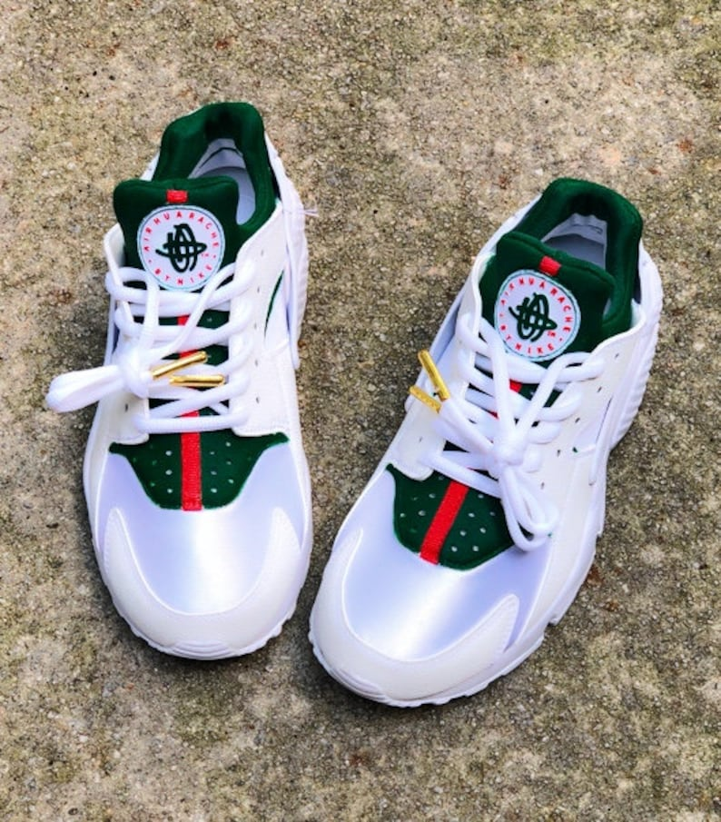competitive price 40166 b32d4 Premium Designer Inspired Nike Huaraches Custom   Etsy