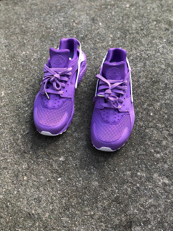 3fb852df4678c Lilac Nike Huarache (custom)