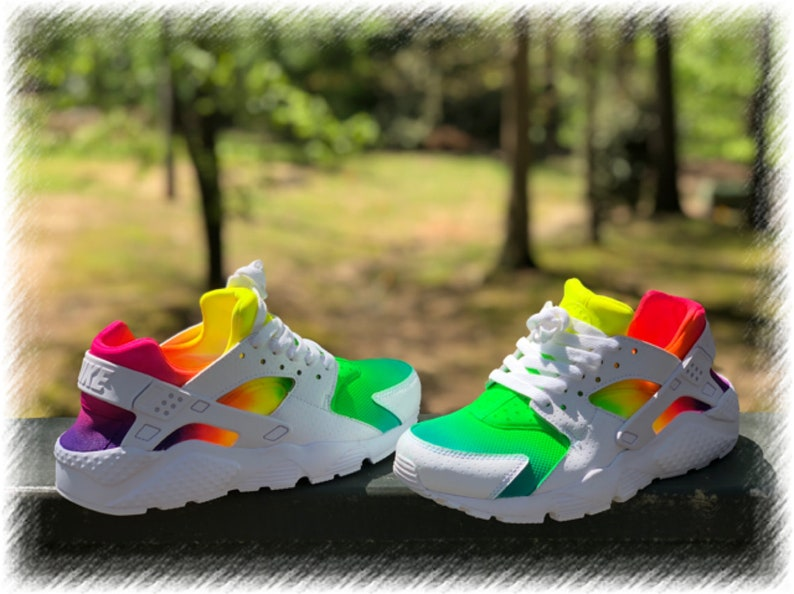 wholesale dealer 1e47a 410c4 Tye Dye Nike huaraches custom   Etsy