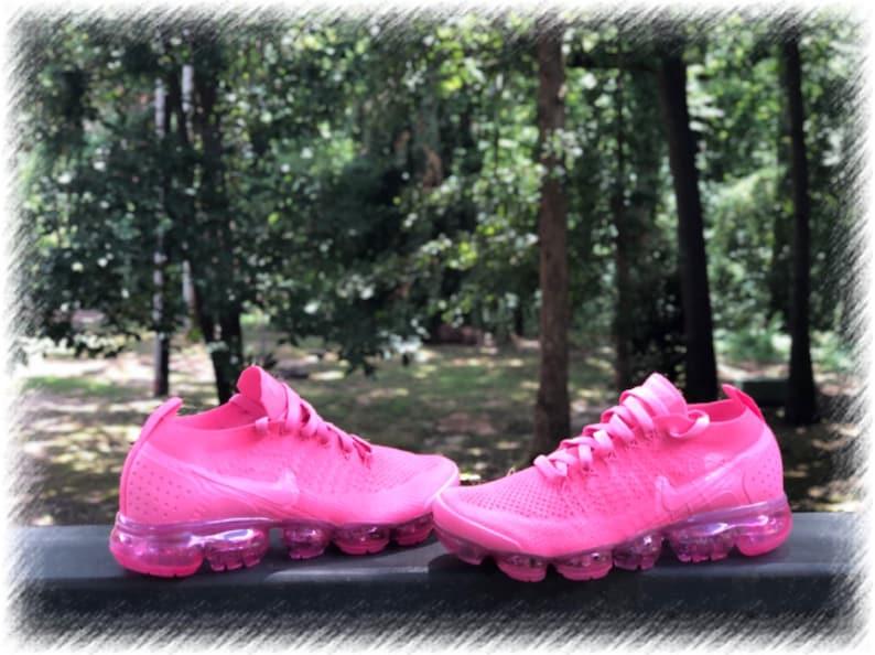 Petal Pink Nike Air Vapormax Flyknit 2 Custom (PLEASE READ)