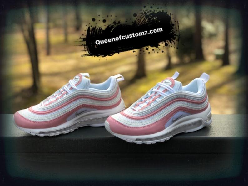 Pink Rose Nike Air Max 97 Custom (PLEASE READ)