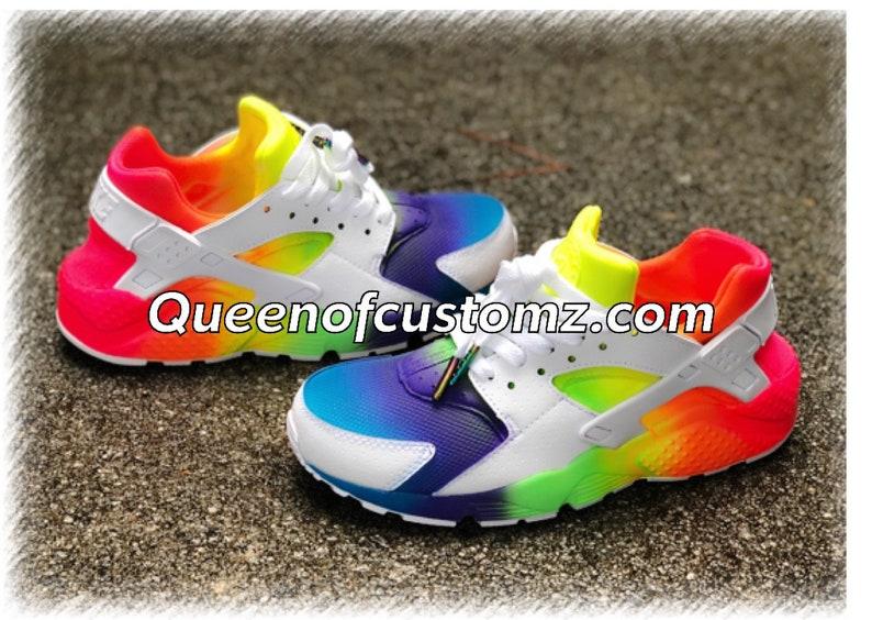 ee0e60f242321 Fruity Tooty Nike Huarache Custom