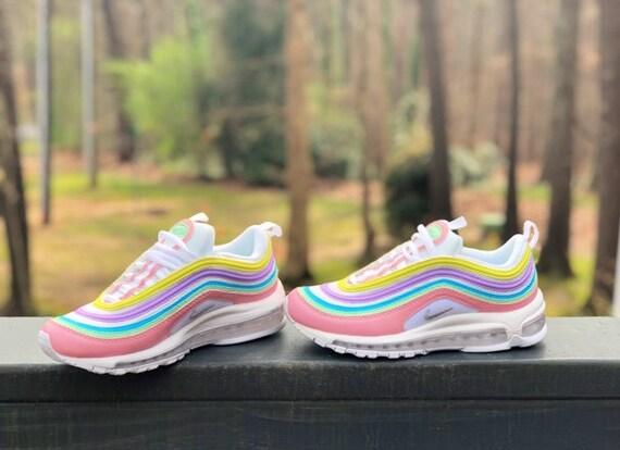 code promo a590a 233a8 Pastel Colors Nike Air Max 97 Custom (PLEASE READ)