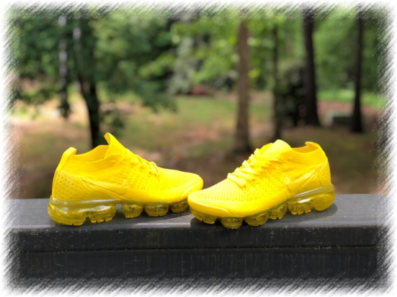 outlet store 06727 ca26a SunshineYellow Nike Air Vapormax Flyknit 2 Custom (PLEASE READ)