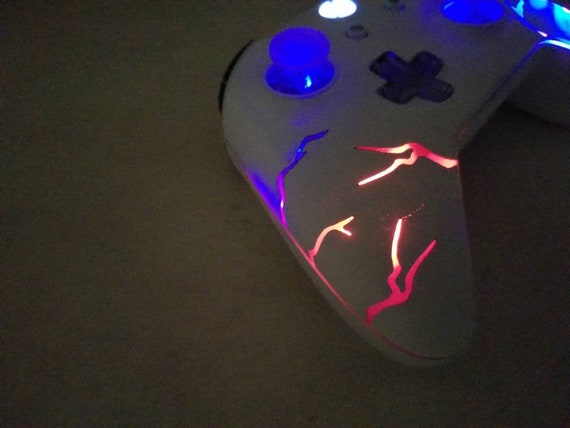 Xbox One Arcade Fire Techfire Led Wireless Etsy