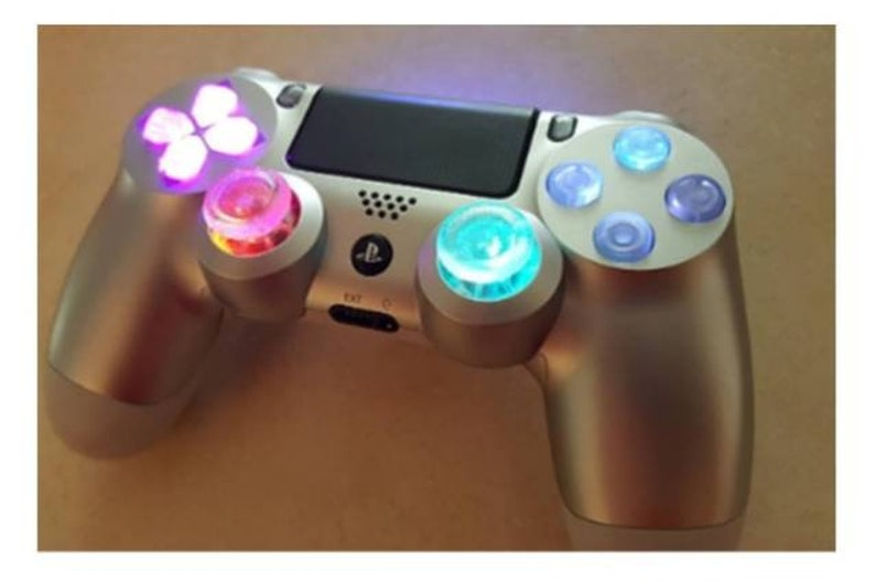 PS4 Controller Wireless LED custom techfire controller PC / PS4