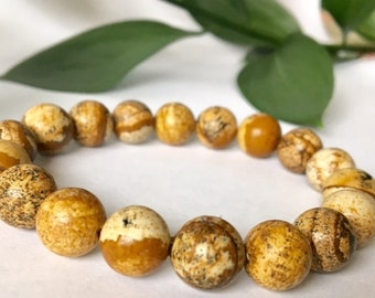 Brown Jasper 10 mm beads