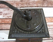Antique Imperial No 557 Cast Iron Coffee Mill Grinder Arcade Mfg Co Rustic Farmhouse Decor Country Kitchen Vintage