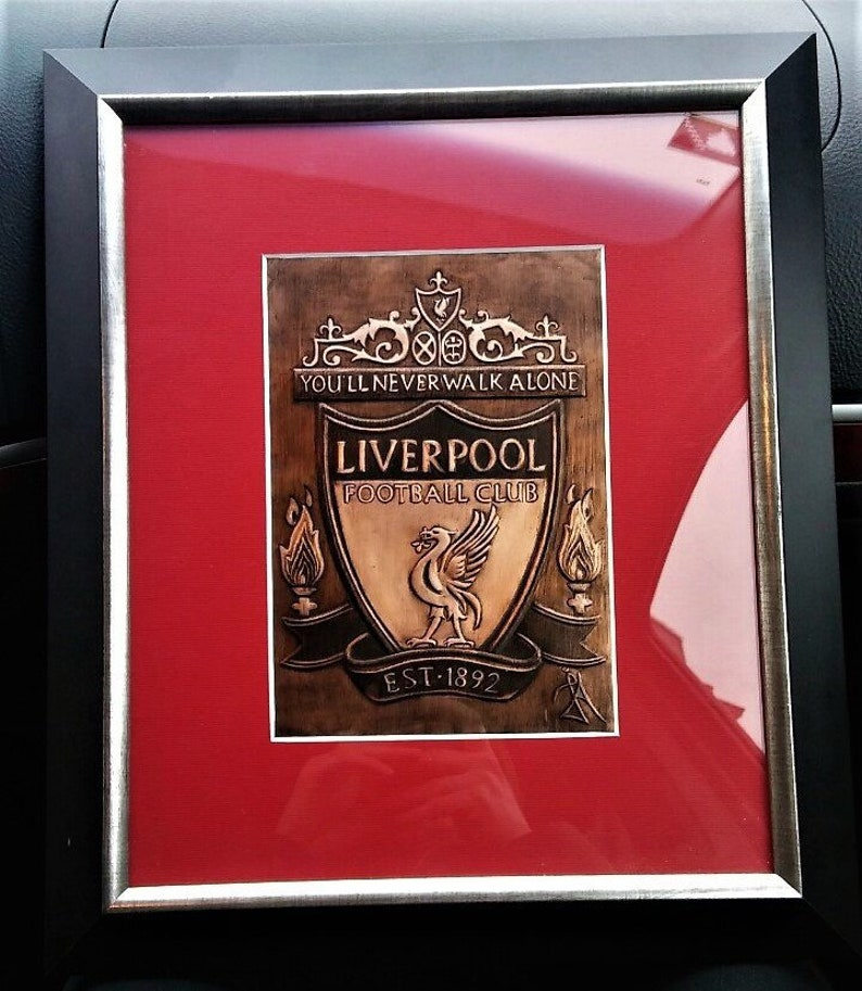 Liverpool FC, Emblem Logo, You'll never walk alone,Liverpool Team, Steven  Gerrard, Kenny Dalglish, Football, England, Premiership, Copper