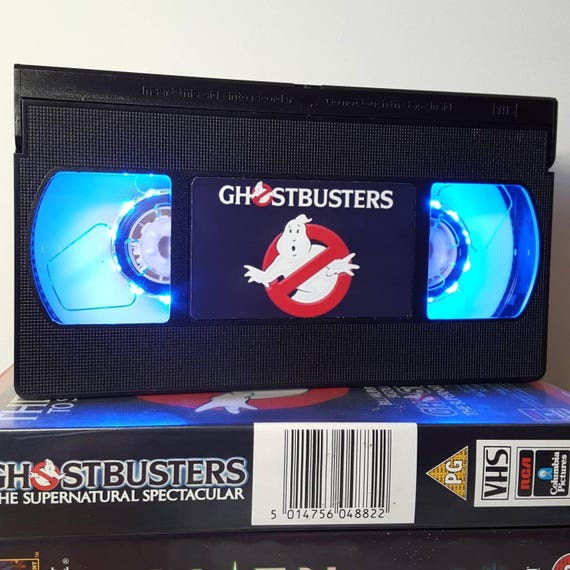 Retro Vhs Lamp Ghostbusters Night Light Table Lamp Order Any Etsy