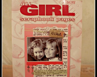 Memory Makers All Girl Scrapbook Pages - The Growing Up Years, Scrapbooking Book, Craft Book For Girls, Papercrafts, Childhood Memories