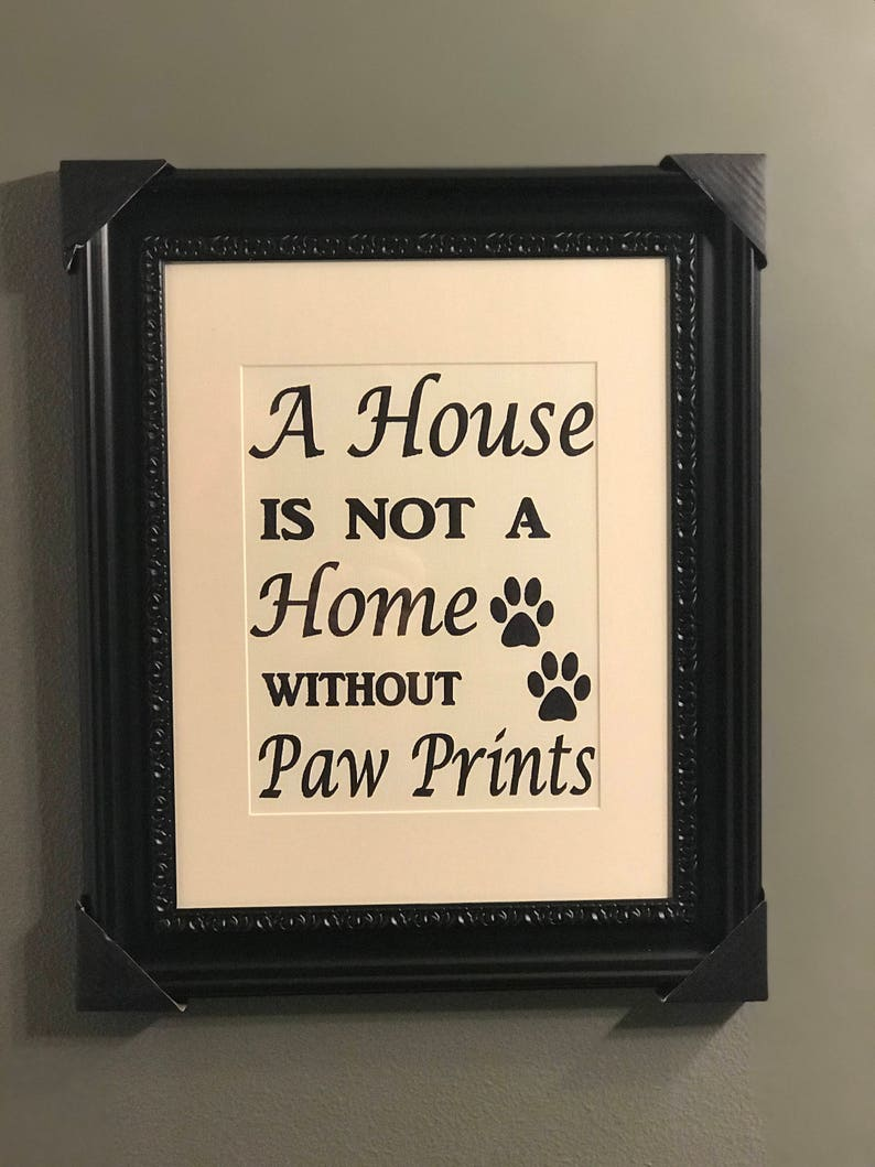 Framed Art A House image 1