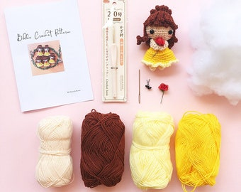 Princess Belle crochet pattern PDF file