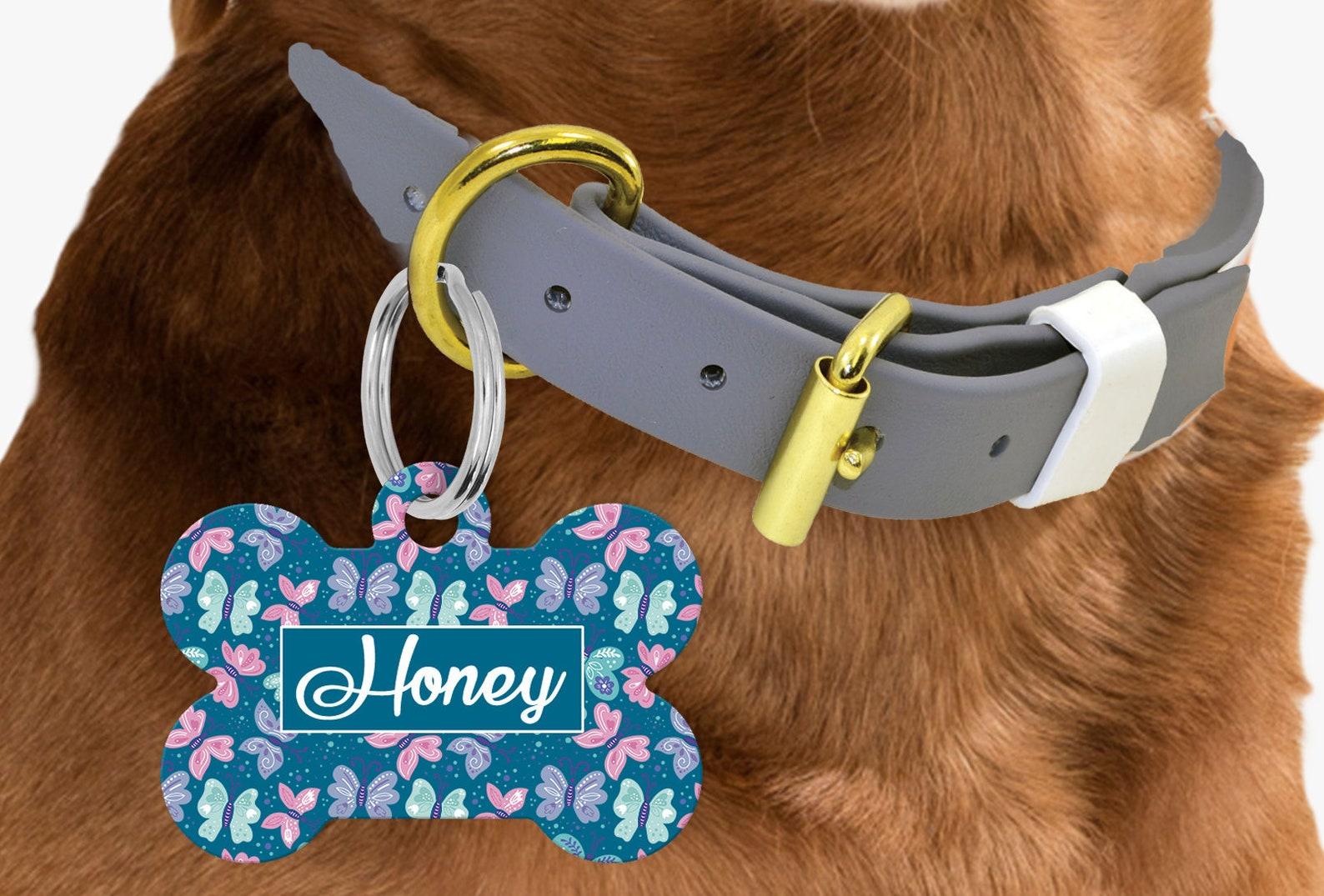 Dye sublimation dog tag