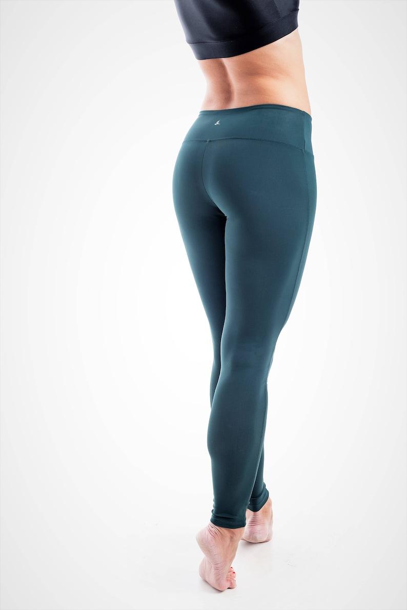 Compression Leggings Spandex Yoga Pants Green Yoga Leggings Running Tights Pilates Pants Dance Leggings Women Yoga Pants Designer Leggings