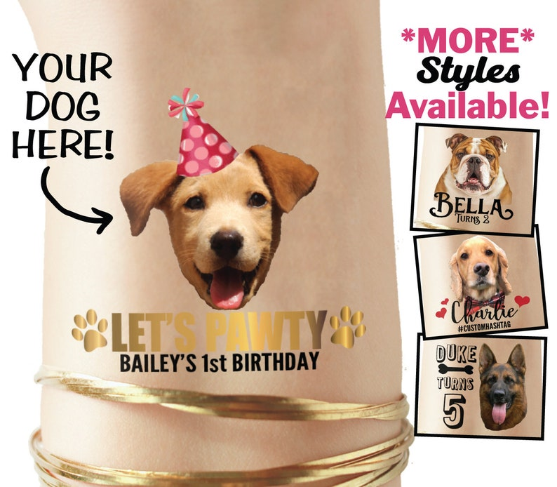 Dog Birthday Party Favors Puppy