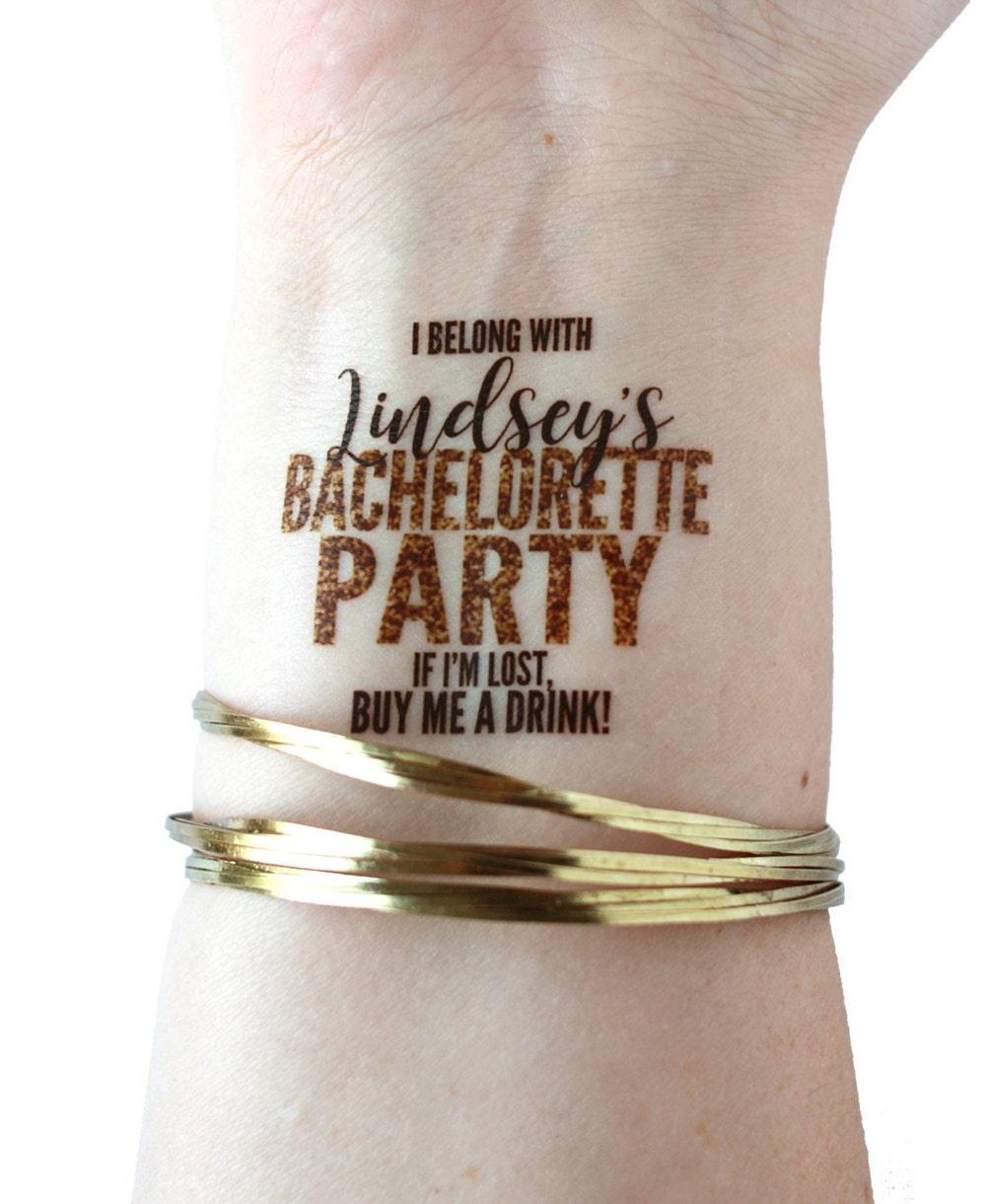 15 Faux Tatouages Pour Bachelortte Partie Brassard Brassard