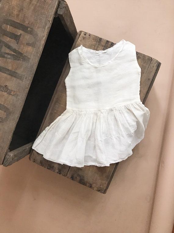 vintage girls baby doll top dress