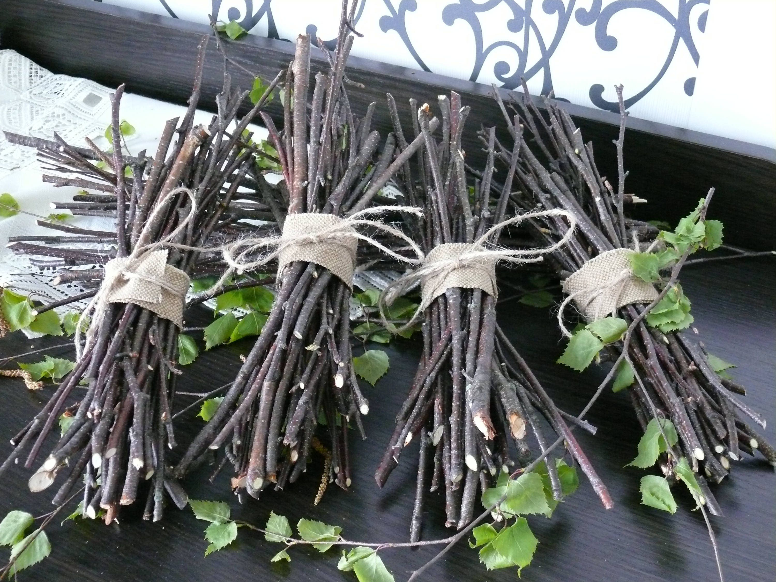 Birch Branches With Out Small Twigs Home Decor Wood Decor