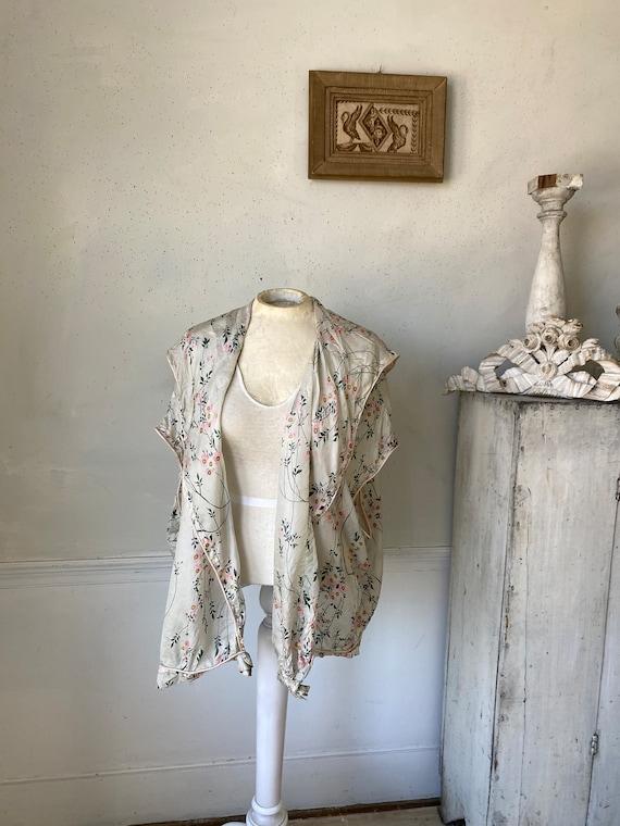Gorgeous Silk Robe Lightweight Floaty Silk Robe 1… - image 4