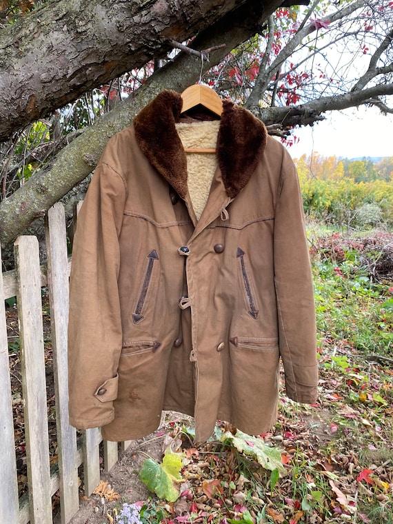 work wear for REPAIR  Chore coat Vintage Canvas J… - image 1