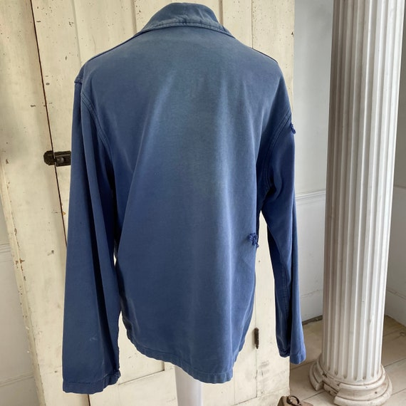 French blue Workwear work wear Vintage military s… - image 9