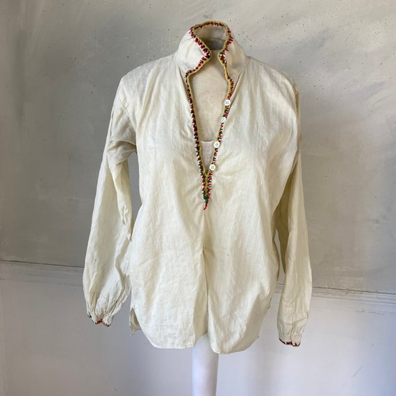 Traditional Folk Costume 1940s Folkwear French Wo… - image 3