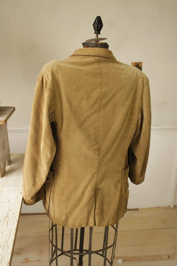 Vintage Corduroy Jacket French Hunting Workwear K… - image 10