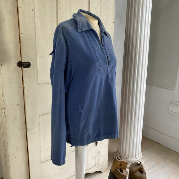 French blue Workwear work wear Vintage military s… - image 4