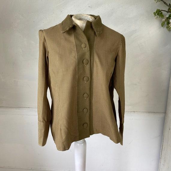 CREATIVE HANDS 1960s Woman's Jacket Plaid Cotton … - image 10