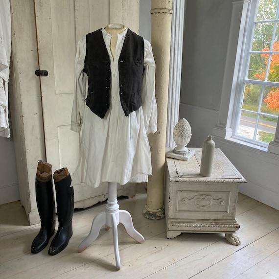 Vest Workwear French work wear textile men's unise
