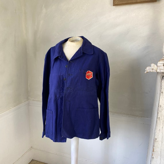 UNUSED Vintage Jacket French Deadstock Workwear S… - image 1