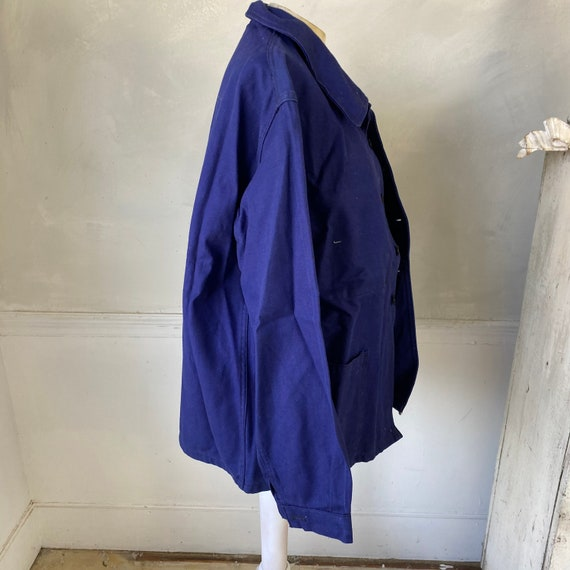 UNUSED Vintage Jacket French Deadstock Workwear S… - image 6