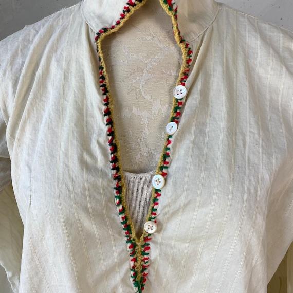 Traditional Folk Costume 1940s Folkwear French Wo… - image 9