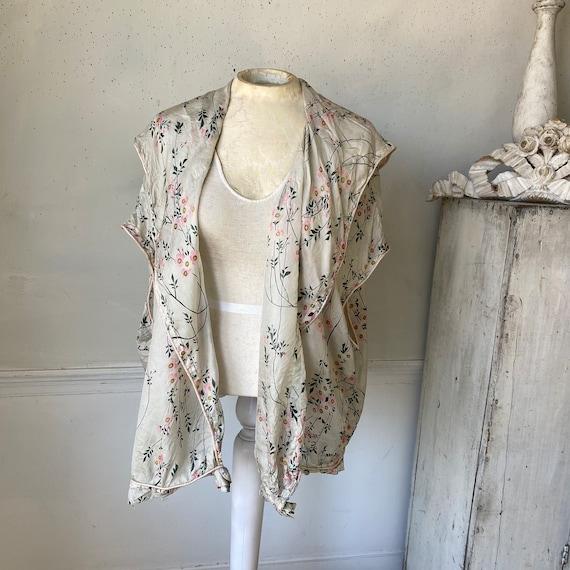 Gorgeous Silk Robe Lightweight Floaty Silk Robe 1… - image 5