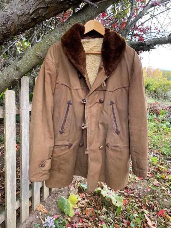 work wear for REPAIR  Chore coat Vintage Canvas J… - image 2