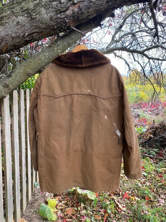 work wear for REPAIR  Chore coat Vintage Canvas J… - image 7