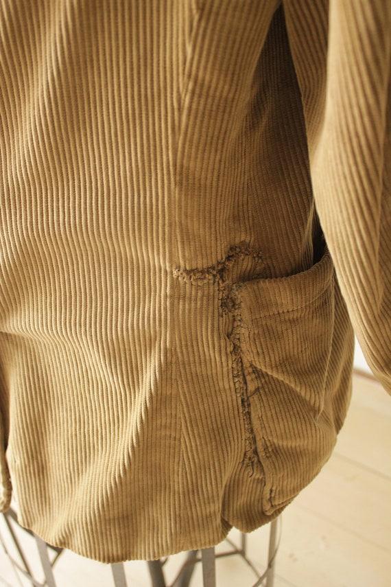 Vintage Corduroy Jacket French Hunting Workwear K… - image 8