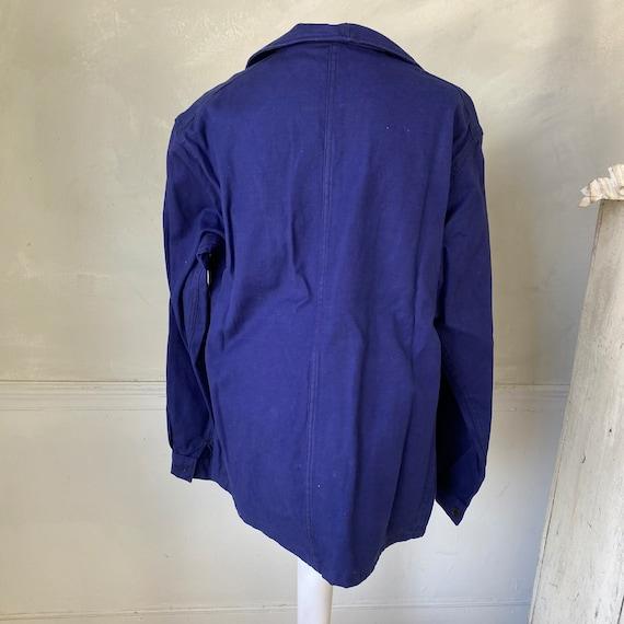 UNUSED Vintage Jacket French Deadstock Workwear S… - image 7
