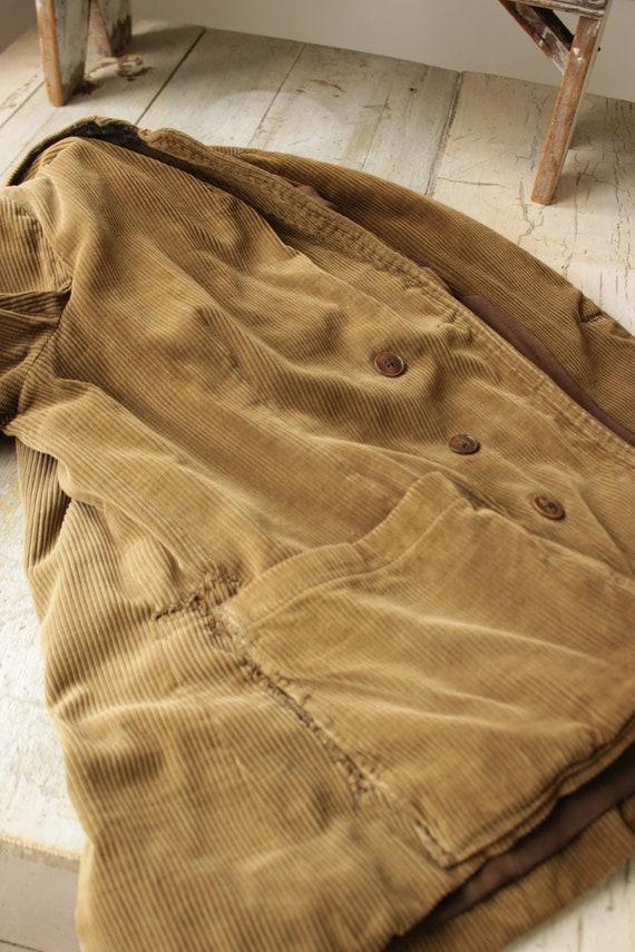 Vintage Corduroy Jacket French Hunting Workwear K… - image 4