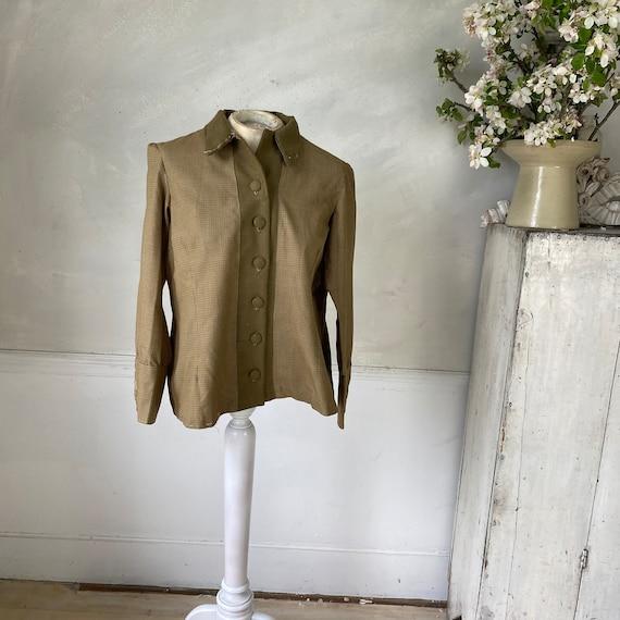 CREATIVE HANDS 1960s Woman's Jacket Plaid Cotton … - image 5