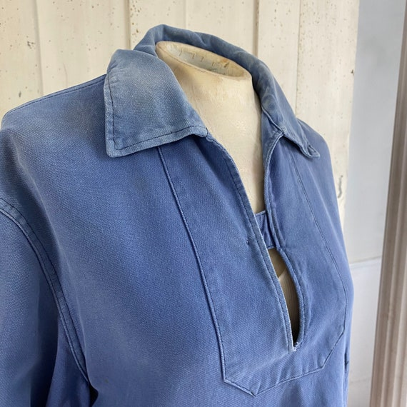 French blue Workwear work wear Vintage military s… - image 5