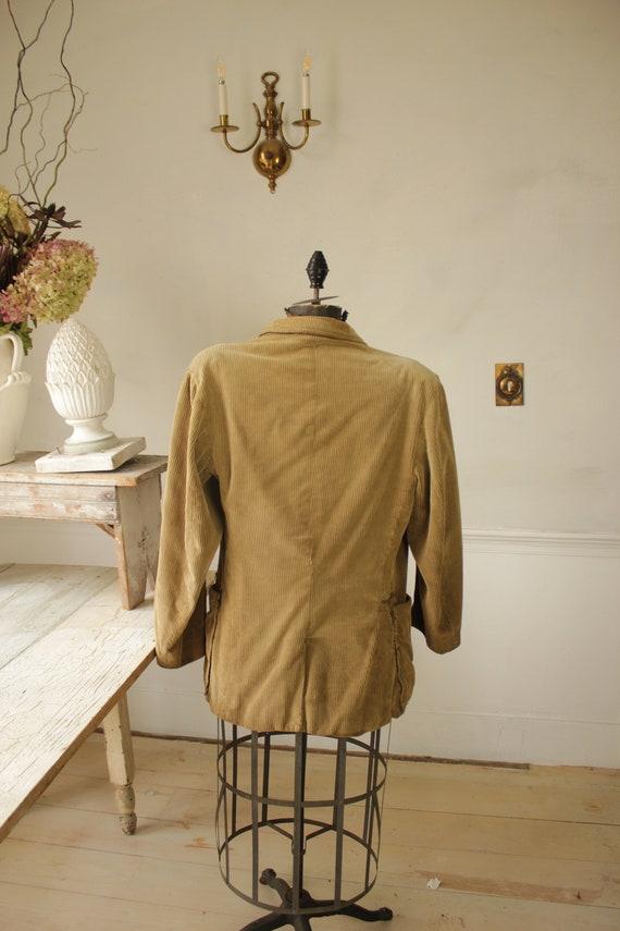 Vintage Corduroy Jacket French Hunting Workwear K… - image 5