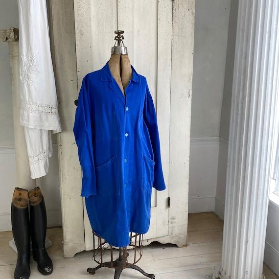 Vintage Jacket French Workwear Antique Prussian B… - image 4