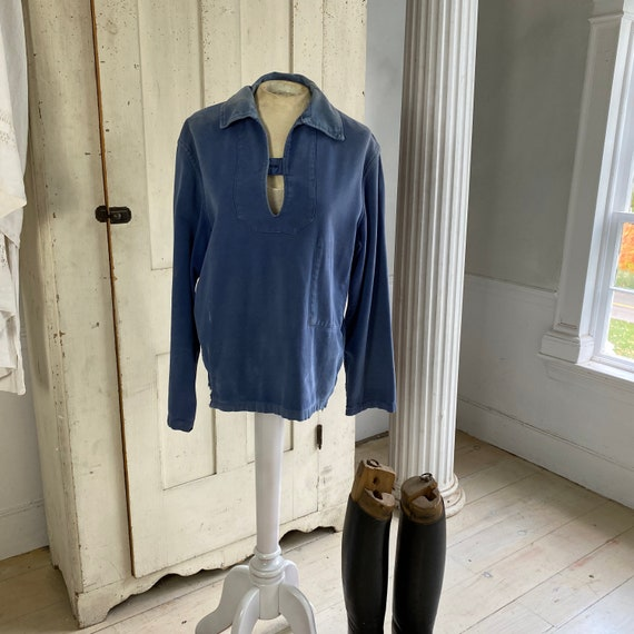 French blue Workwear work wear Vintage military s… - image 1