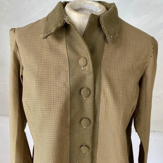 CREATIVE HANDS 1960s Woman's Jacket Plaid Cotton … - image 8