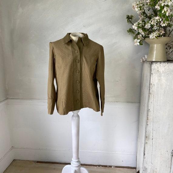 CREATIVE HANDS 1960s Woman's Jacket Plaid Cotton … - image 2