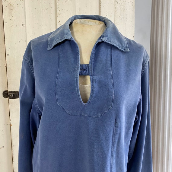 French blue Workwear work wear Vintage military s… - image 10