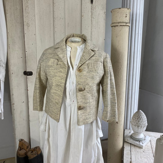 French Vintage Woman's dress coat jacket